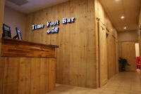 Time Foot Bar: Grand opening, Great NEWS!!.