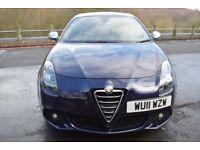 Alfa Romeo Giulietta 2.0 JTDM-2 140 bhp Veloce (blue) 2011