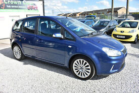 Ford C-MAX 2.0 Titanium AUTOMATIC BLUE 2008 MODEL +BEST AVAILABLE+