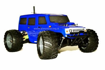 Monster Hummer Controlado Off-Road Eléctrico sin Escobillas 1:18 4WD Rtr HIMOTO