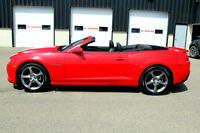 2014 CHEVROLET CAMARO 2LT CONVERTIBLE! LOADED/ LEATHER!!!