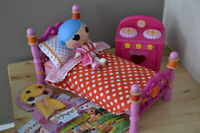 Lalaloopsy Littles Doll and Furniture Lot