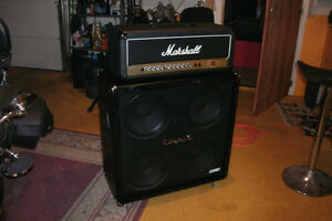 Marshall Valvestate with Crate cabinet
