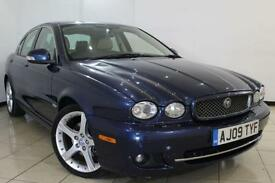 2009 09 JAGUAR X-TYPE 2.2 SOVEREIGN 4DR 152 BHP DIESEL