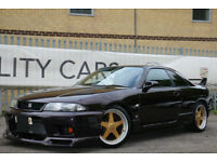 Nissan Skyline GTR R33 SOUGHT AFTER MIDNIGHT PURPLE APPRECIATING CLASSIC!!
