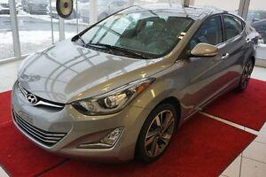 Hyundai Elantra LIMITED-CUIR-TOIT-CAMÉRA 2014