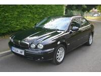 JAGUAR X-TYPE 2.1 V6 2004 Petrol Manual in Black