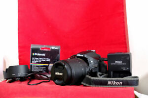 Nikon D5200 w 18-140VR. Bag,  Only 2045 Sh. Count, UV Filter