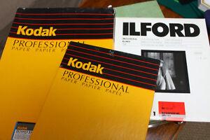 Develop photos at home! Darkroom supplies and vintage enlarger