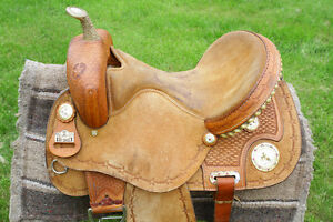 Barrell Racing Saddle