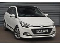 2015 Hyundai i20 1.2 Premium SE (84 PS) Petrol white Manual