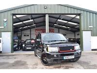 2008 Land Rover Range Rover Sport 3.6TD V8 AUTOMATIC HSE BLACK