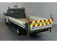 FORD TRANSIT 2.2 350 124 BHP L4 EXTRA LWB DROPSIDE LORRY
