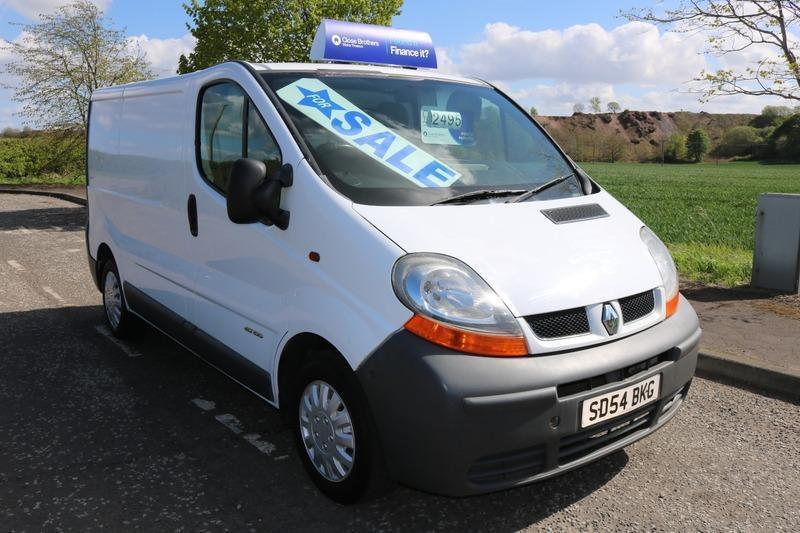 renault trafic good condition no vat in broxburn. Black Bedroom Furniture Sets. Home Design Ideas