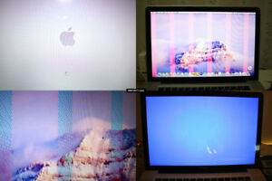 GRAPHIC CARD VIDEO PROBLEMRepair Service for the MacBook Pro 201
