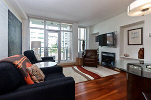 Immaculately Furnished One Bedroom with Den in The Aria