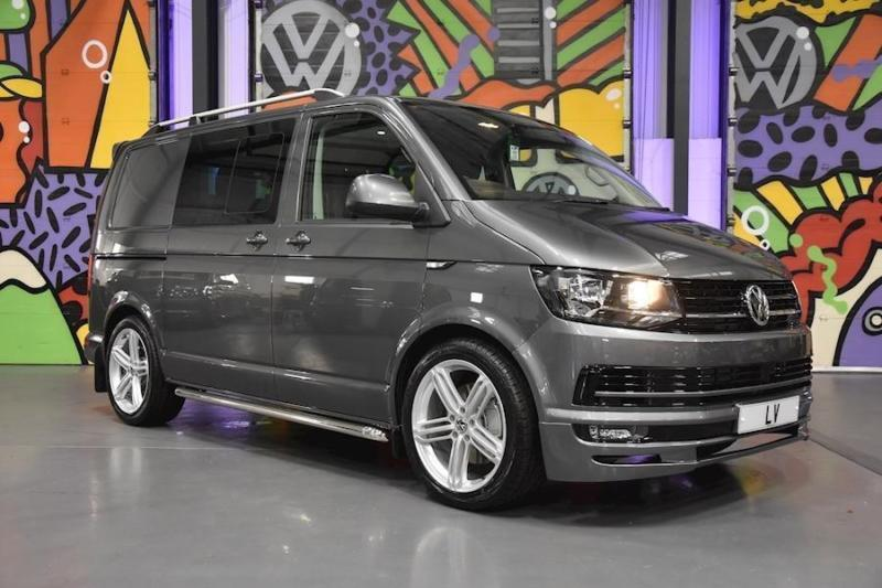 VW TRANSPORTER T6 T32 SWB 2.0BITDI 204PS DSG HIGHLINE KOMBI SPORTLINE PK GREY