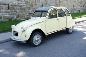Citroen 2CV  Fully restored