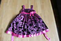 Girls party dress, size 2T