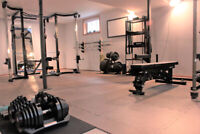 Private Fitness Studio; 1 on 1 or 1 on 2 coaching