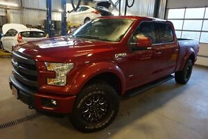 "Ford F-150 4WD SuperCrew 157""-LARIAT-GPS-CUIR 2015"