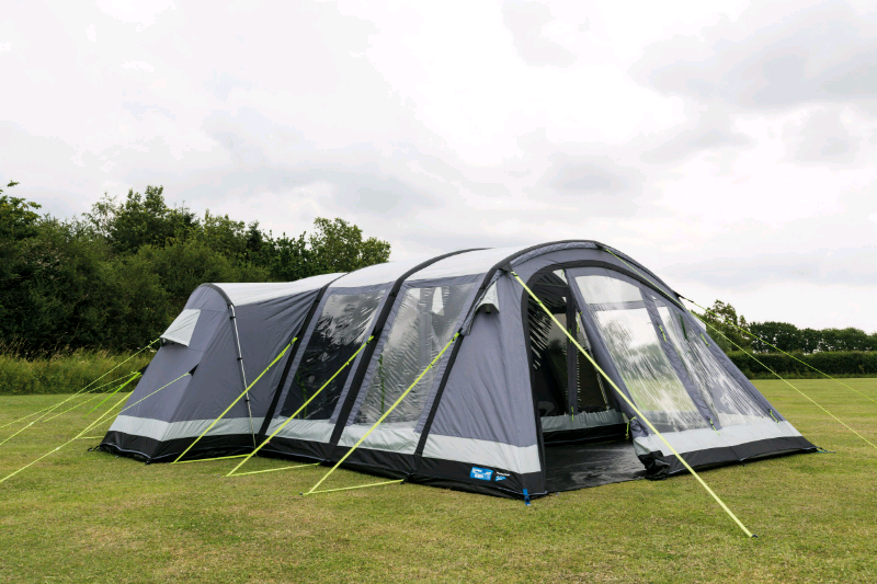 REDUCED Kampa Bergen Pro Air 6 Air Tent Used Once Must See for sale  Selby, North Yorkshire