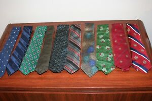 Men's Neck Ties-Tommy Hilfiger; Dior; Polo etc  - $5 EACH