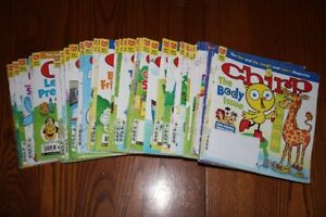 Chirp Magazines (46 issues)