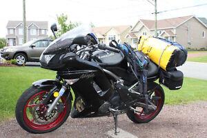 Kawasaki Ninja 650r, low Km's, many add-ons