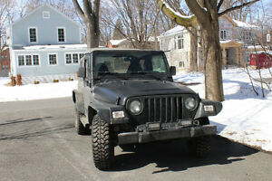2000 Jeep CJ tissu Berline