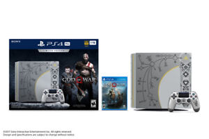 PS4 Pro 1to God Of War Limited Edition **NEW**
