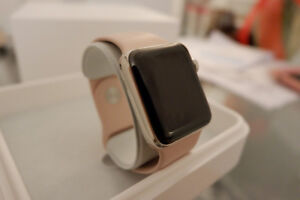 Iwatch stainless steel 38mm serie 2 , 100%condition