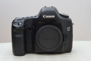 Canon EOS 5D Classic (mk1) 12.8 mp w/ Battery Grip