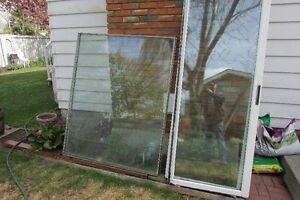Double paned windows