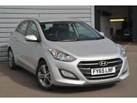 2015 Hyundai i30 1.6 SE (120 PS) Petrol silver Automatic