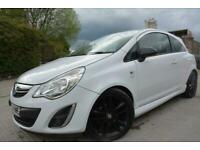 2012 12 VAUXHALL CORSA 1.2 LIMITED EDITION 3 DOOR*LOW MILEAGE*ONLY 60,000 MILES*