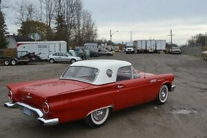 Moving Sale!!!!1957 Thunderbird, Red with a white top