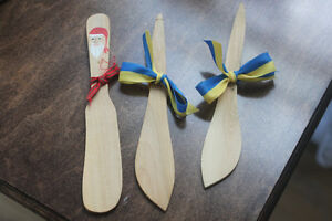 Swedish Wooden Spreaders (butter or dips) from Sweden