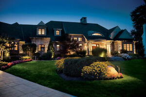 Edmonton (low voltage) Landscape Lighting Contractor