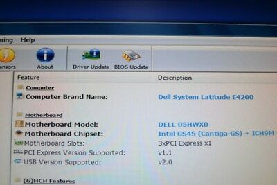 Dell E4200 Laptop Motherboard