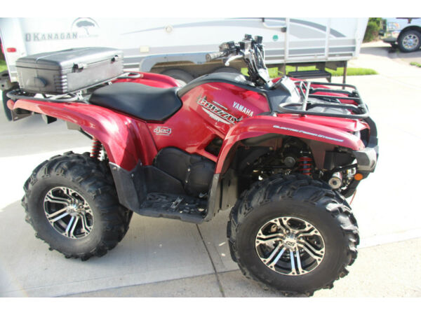 Yamaha grizzly silver tip edition for sale canada for Yamaha grizzly 80