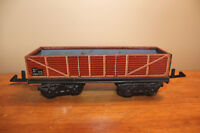 Vintage Toy Train Rail Car