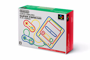 Nintendo Classic Mini Super Famicom New/Neuve