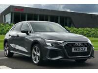 2021 Audi A3 Sportback S line 40 TFSI e 204 PS S tronic Auto Hatchback Petrol/P