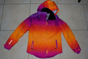 Sunice Girls Multi-Color Ski / Snowboard Jacket. Size16.