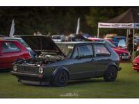VW GOLF MK1 GTI 16VALVE TURBO