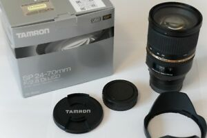 Tamron 24-70mm F/2.8 Lens with LA-EA3 - Sony Full-frame E-mount