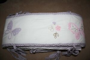 GIRLS POTTERY BARN CRIB SET - GABRIELLE