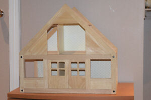 Wooden Doll house set - all inclusive