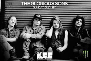 Glorious Sons Tickets @ The Kee